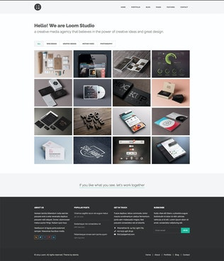 Thumbnail for Loom - Multipurpose Responsive HTML5 Template