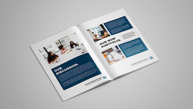 Selected - Business Brochure 12 pages - product preview 3