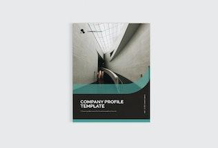 Thumbnail for Company Profile Template