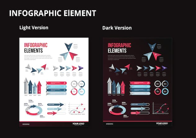 Infographic Examples for Designer V.60 - product preview 2
