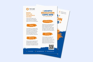 Indesign Education Flyer