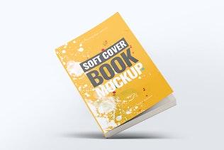 Thumbnail für Soft Cover Buch Mock-Up