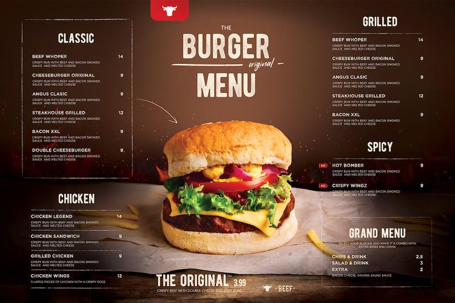 Burger Menu - product preview 1