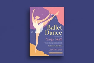 Thumbnail for Ballet Dance Event Flyer