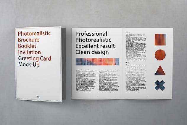 Brochure / Booklet / Invitation Mockups 002