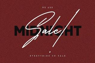 Satilas Signature Font - Free Sans