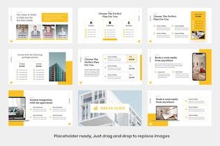 Thumbnail for BRENZ - Business Apartment Google Slide