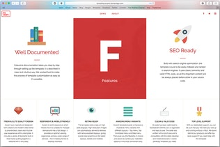 Thumbnail for Accent — Creative Responsive OnePage Template