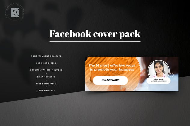 Webinar Facebook Cover Pack - product preview 4