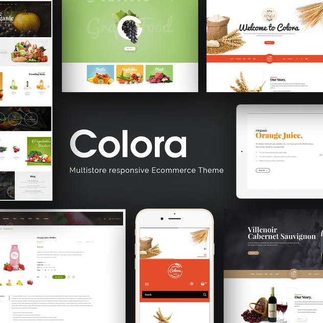 Colora - Organic Responsive Prestashop 1.7 Theme - product preview 1