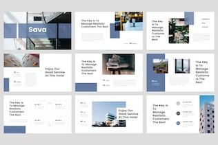 Thumbnail for Sava - Hotel Google Slides Template