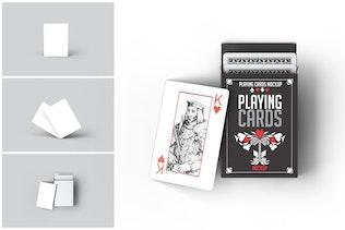 Spielkarten Mock-Up
