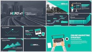 Thumbnail for Hero v1 Multipurpose Presentation Template