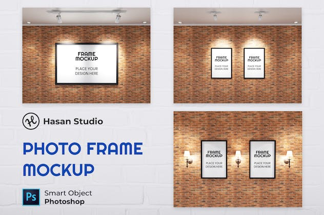 Nuzie - Minimalist Frame Mockup Collection 03