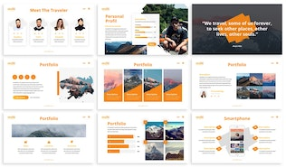 Thumbnail for MultiAdventure - Powerpoint Template