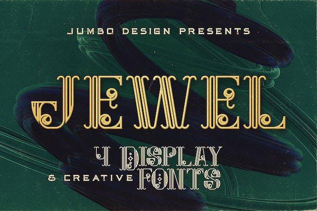 Jewel - Display Font