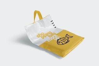 Thumbnail for 5 Beautiful Shopping Bag Mockups
