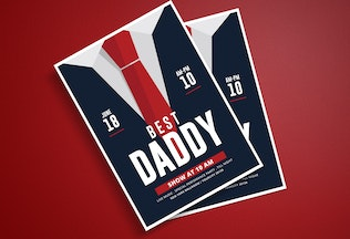 Thumbnail for Father's Day Flyer