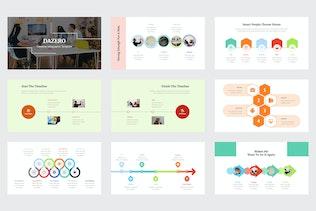 Thumbnail for Dazero - Timeline Infographic Powerpoint