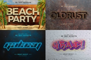 Thumbnail for 3D Text Effects Vol.2