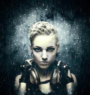 Thumbnail for Rainstorm 2 CS4+ Photoshop Action