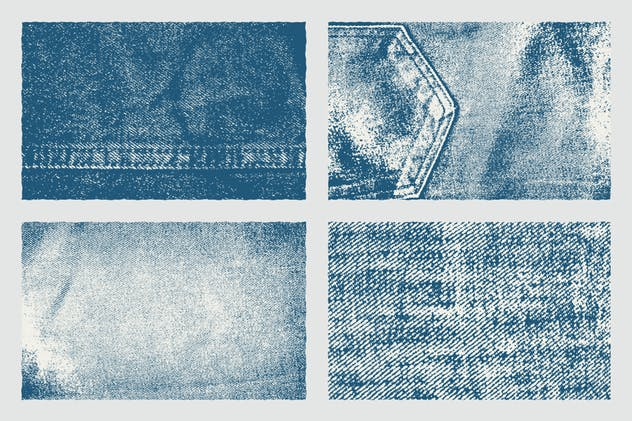 Denim Texture Pack Background - product preview 4