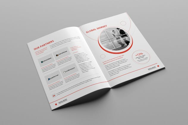 Annual Report A4 & Us Letter - product preview 7