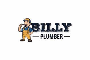 Thumbnail for Handyman Character Logo