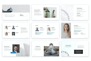 Thumbnail for Klaudia Powerpoint Template