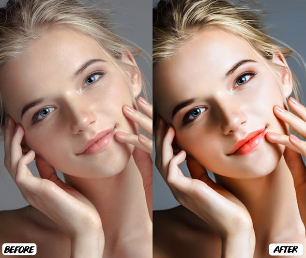 Skin Retouch Lightroom Presets - product preview 2