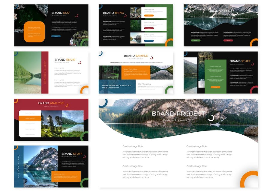 Natura | Powerpoint Template - product preview 2