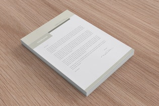 Thumbnail for Grey Corporate Business Stationery