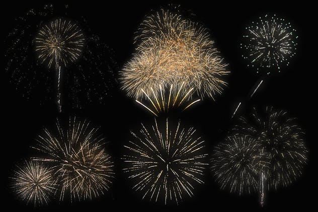 100 Firework Overlays - product preview 5