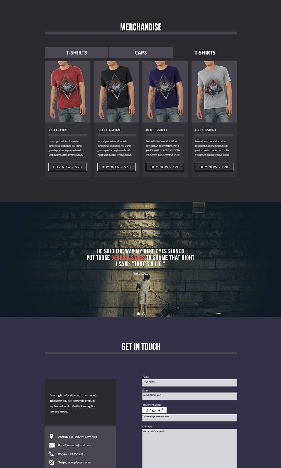 Amp-fi / Music Band Muse Template for Musicians