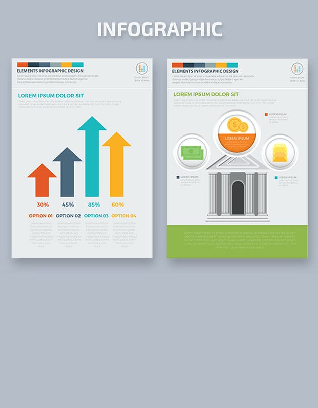 Infographics Template Design - product preview 1