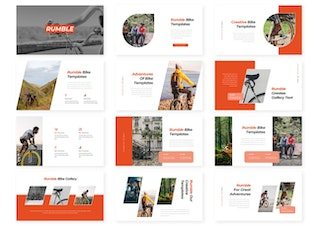 Thumbnail for Rumble - Powerpoint Template