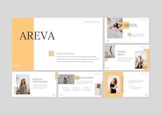 Areva - Google Slide Template