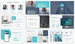 Thumbnail for Venture - Google Slides Presentation Template