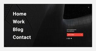 Thumbnail for inspire UI Kit - Menu PSD Web Sections