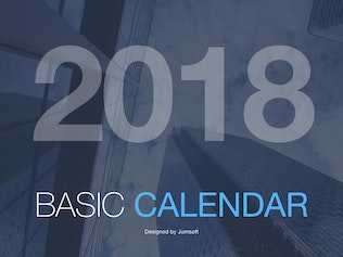 Thumbnail for Calendar PowerPoint Template