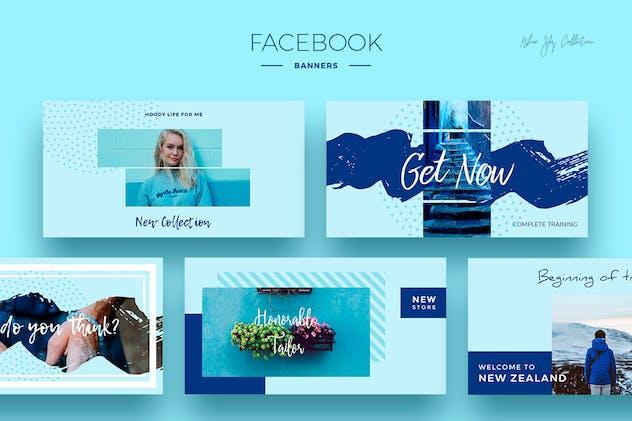Blue Sky Social Media Designs - product preview 2