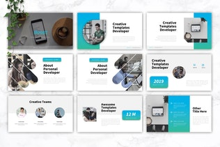 Thumbnail for BOOST - IT Company Powerpoint Template