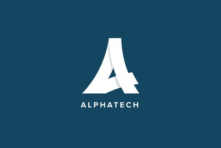 Thumbnail for Alpha Tech Logo Template
