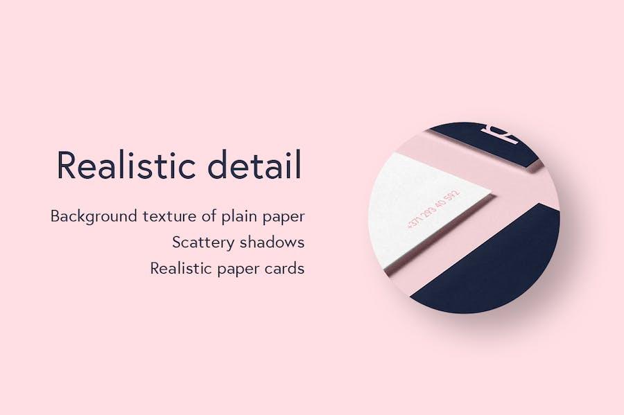 Preview image 4 for Peue - Реалистичный макап для визитных карточек