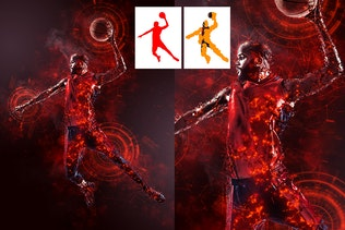 Миниатюра для Научная фантастика Photoshop действие