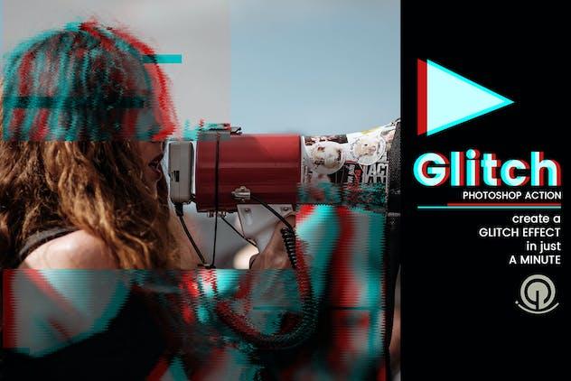 Glitch | PSD action