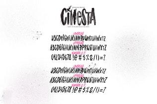 Thumbnail for Cinesta Font