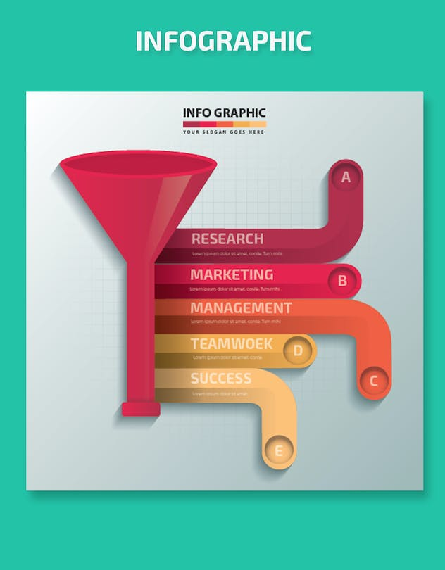 Funnel Infographics-Design - product preview 2