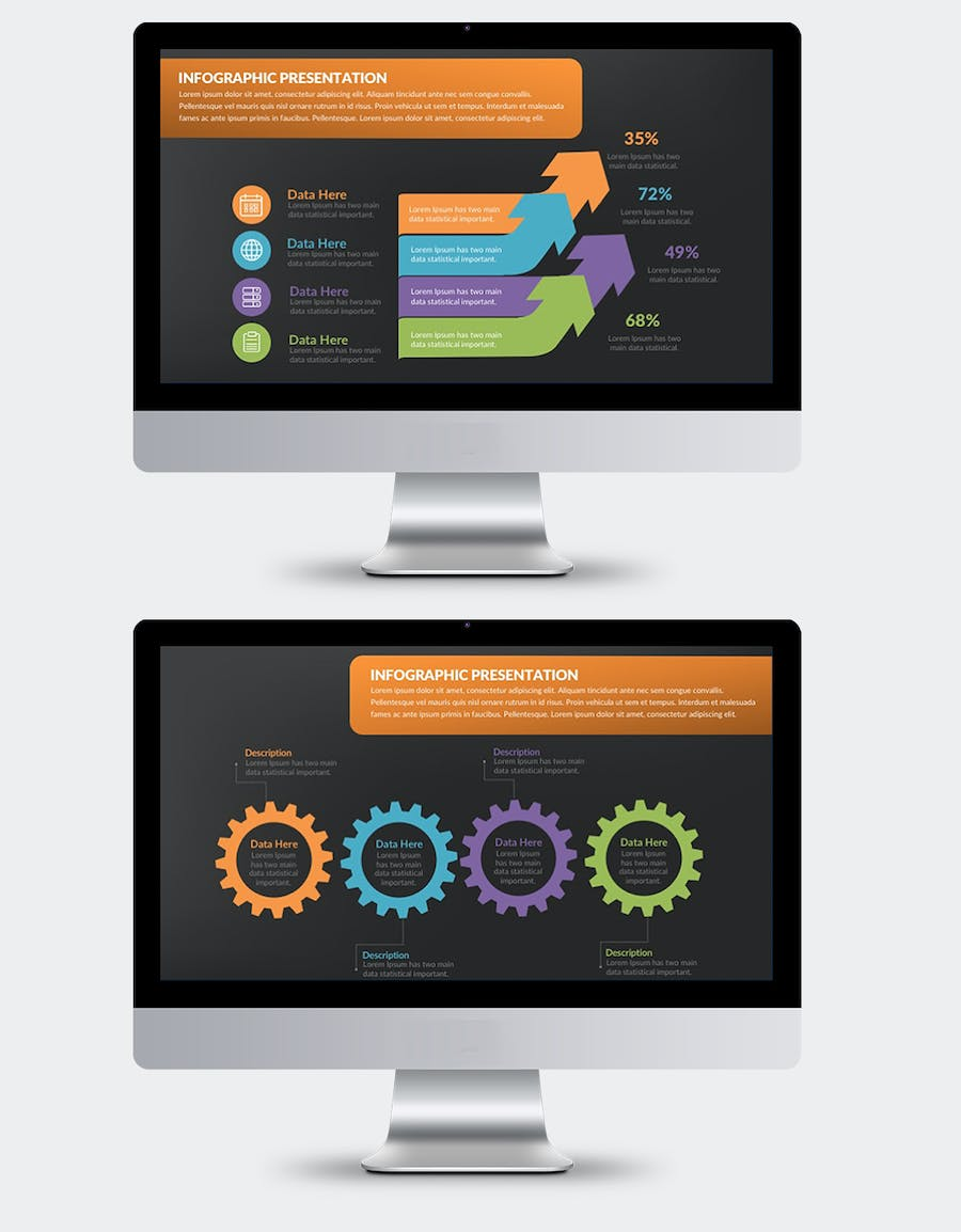 Infographics Keynote Presentation - product preview 5