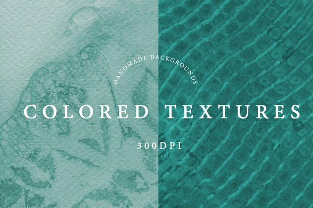 Watercolor Handmade Textures - product preview 1